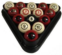 Alabama Crimson Tide Billiard Ball Set