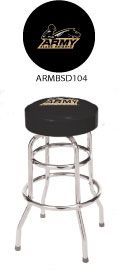 Army Black Knights Double Rung Bar Stool