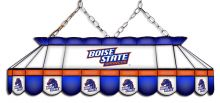 Boise State Broncos MVP Stained Glass Lamp