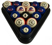 Boise State Billiard Ball Set - NUMBERED