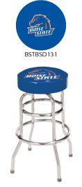 Boise State University Double Rung Bar Stool