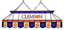 Clemson Tigers MVP Stained Glass Lamp