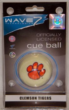 Clemson Tigers Cue Ball