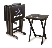 Cowboys Snack Tray Set