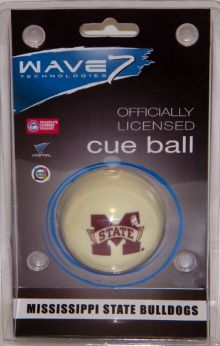 Mississippi State Bulldogs Cue Ball