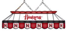 Nebraska Huskers MVP Stained Glass Lamp