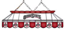 Ohio State Buckeyes MVP Stained Glass Lamp