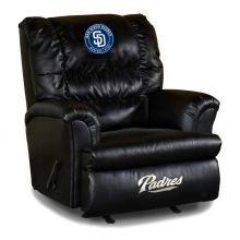 Padres Big Daddy Leather Recliner