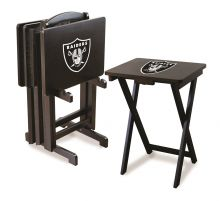 Raiders Snack Tray Set