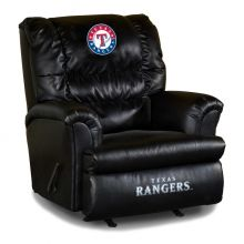 Rangers Big Daddy Leather Recliner