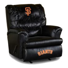 SF Giants Big Daddy Leather Recliner