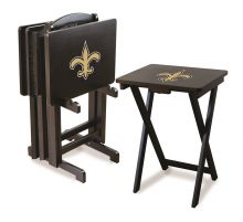Saints Snack Tray Set