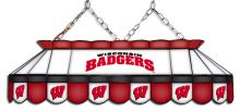 Wisconsin Badgers MVP Stained Glass Lamp