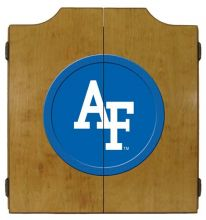 Air Force Dart Cabinet (Finish: Oak Finish)