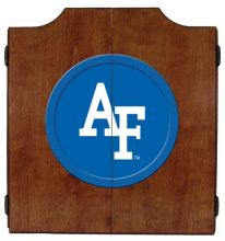 Air Force Dart Cabinet (Finish: Pecan Finish)