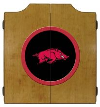 Arkansas Dart Cabinet (Finish: Oak Finish)