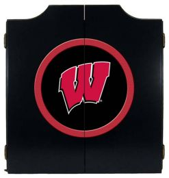 Wisconsin Dart Cabinet (Finish: Black Finish)