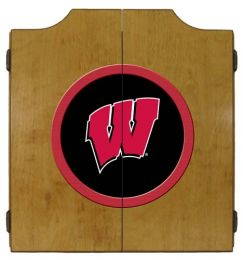 Wisconsin Dart Cabinet (Finish: Oak Finish)