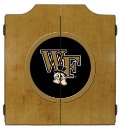 Wake Forest Dart Cabinet (Finish: Oak Finish)